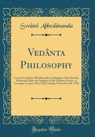 Ved�nta Philosophy by Swami Abhedananda image
