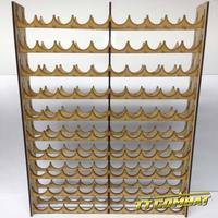 TTCombat: Mega Paint Rack - Vallejo (100 Pots)