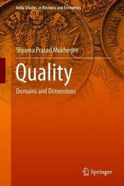 Quality by S. P. Mukherjee