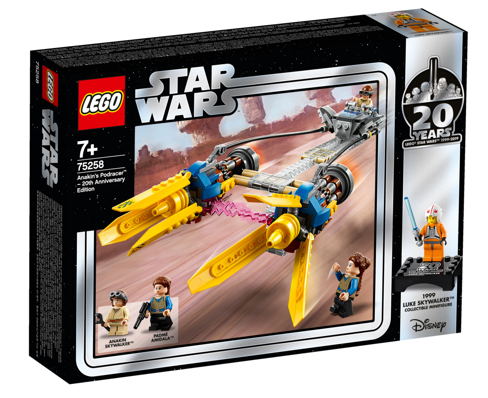 LEGO Star Wars: 20th Anniversary Edition - Anakin's Podracer (75258) image