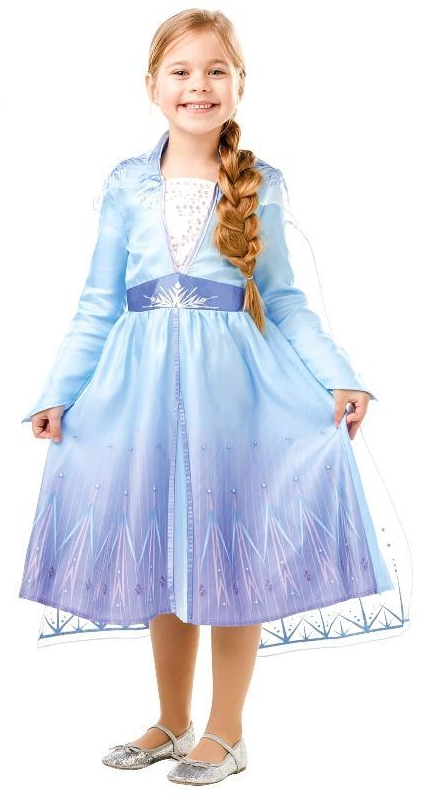 Disney's Frozen 2: Elsa - Classic Dress (6-8 Years)