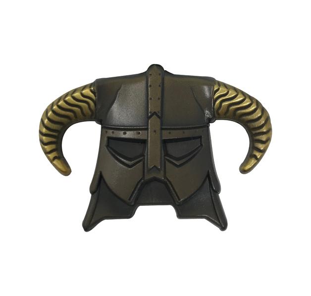 Elder Scrolls Skyrim: Pin Badge - Dragonborn Helmet