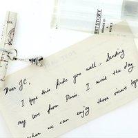 Short Story: Message in a Bottle - Paris