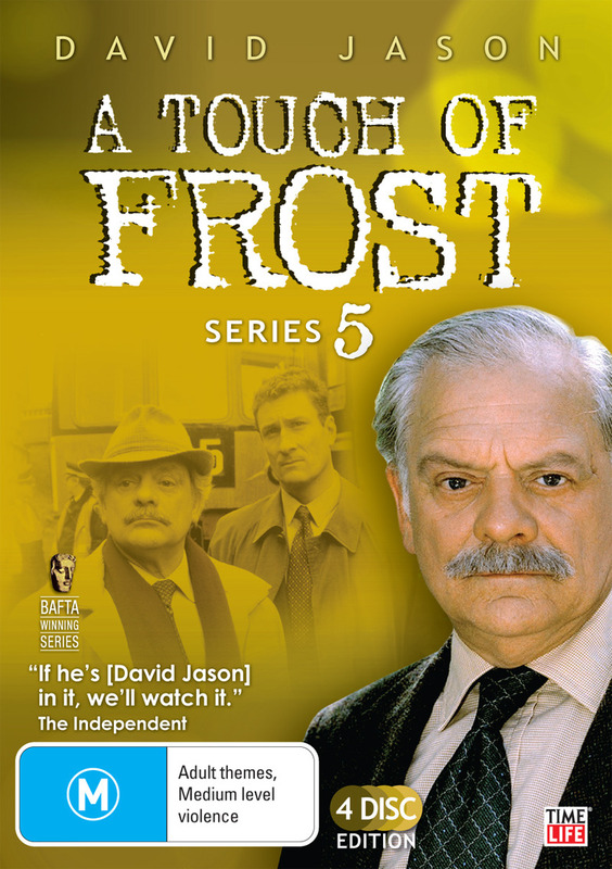 A Touch Of Frost - Series 5 (4 Disc Set) on DVD