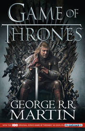 A Game of Thrones (Song of Ice & Fire #1) (TV Tie-in Cover) (U.K Edition) by George R.R. Martin