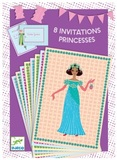 Djeco: Princesses - Invitation Cards