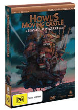 Howl's Moving Castle - Limited Edition (2 Disc Set) on DVD