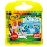 Crayola: Window Markers & Stencil Set