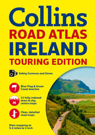 Collins Ireland Road Atlas by Collins Maps