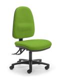 CS Alpha 3 Lever High Back Task Chair - Kiwi