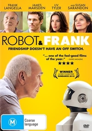 Robot & Frank on DVD
