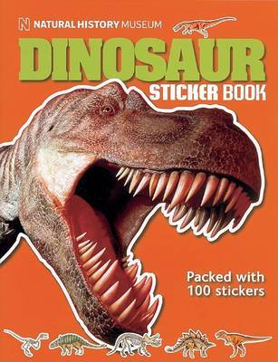 Dinosaur Sticker Book image