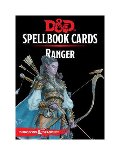 D&D Spellbook Cards: Ranger Deck (46 Cards)