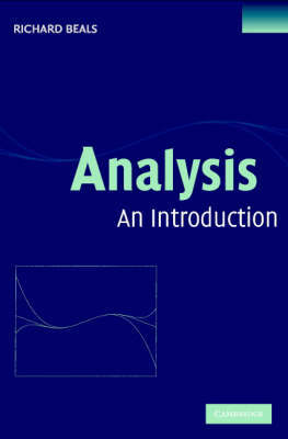 Analysis: An Introduction by Richard Beals image