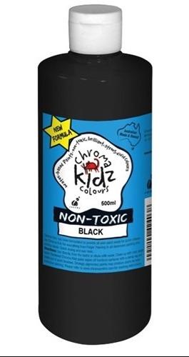 Chroma: Kidz Paint - Black (500ml)