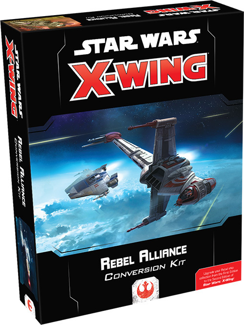 Star Wars X-Wing Rebel Alliance Conversion Kit