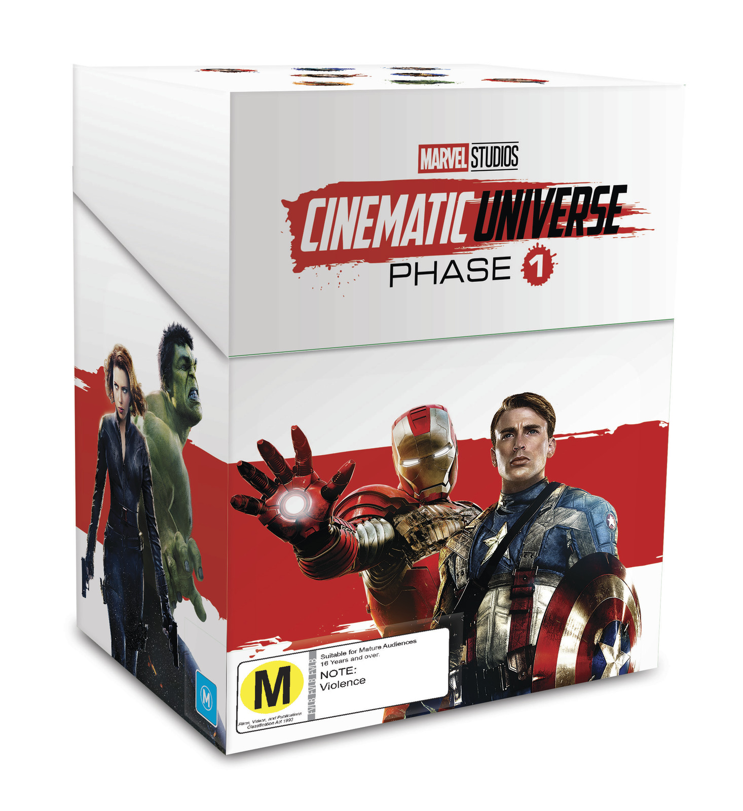 Marvel Studios: Cinematic Universe - Phase 1