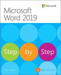 Microsoft Word 2019 Step by Step by Joan Lambert