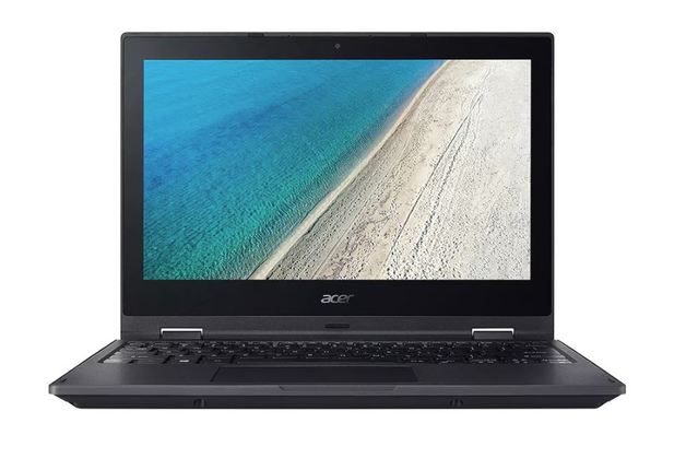 "Acer TravelMate Spin B118 PRO 11.6"" Touch N5000 4GB 128GB SSD W10Pro 3Yr Academic Rugged"