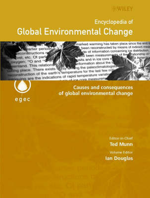 Encyclopedia of Global Environmental Change: v. 3 image