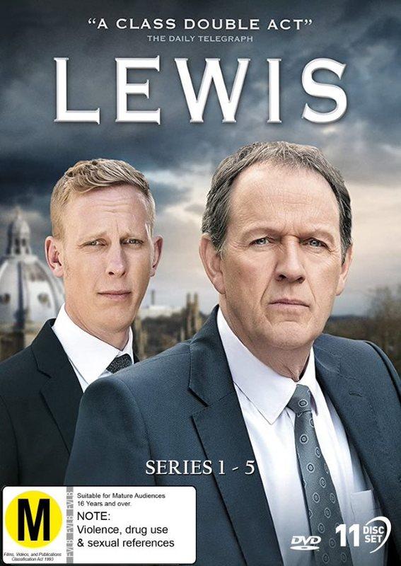 Lewis - Series 1-5 on DVD
