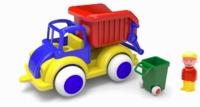 Viking Toys - Jumbo Rubbish Truck with Figure