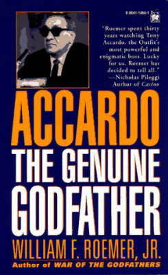 The Genuine Godfather by William F Roemer