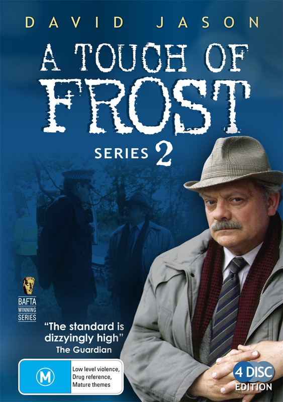 A Touch Of Frost - Series 2 (4 Disc Set) on DVD