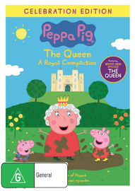Peppa Pig: Queen Royal Compilation on DVD