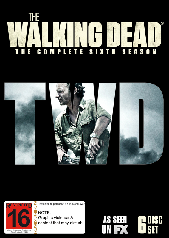 The Walking Dead - The Complete Sixth Season on DVD