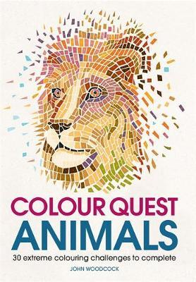 Colour Quest Animals by John Woodcock