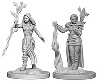 D&D Nolzurs Marvelous: Unpainted Minis - Human Female Druid