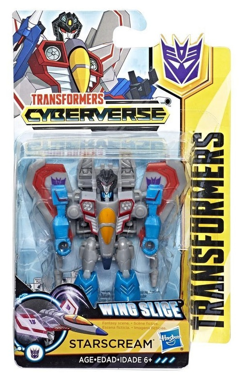 Transformers: Cyberverse - Scout - Starscream