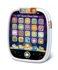 Vtech: Touch & Teach Tablet - Blue