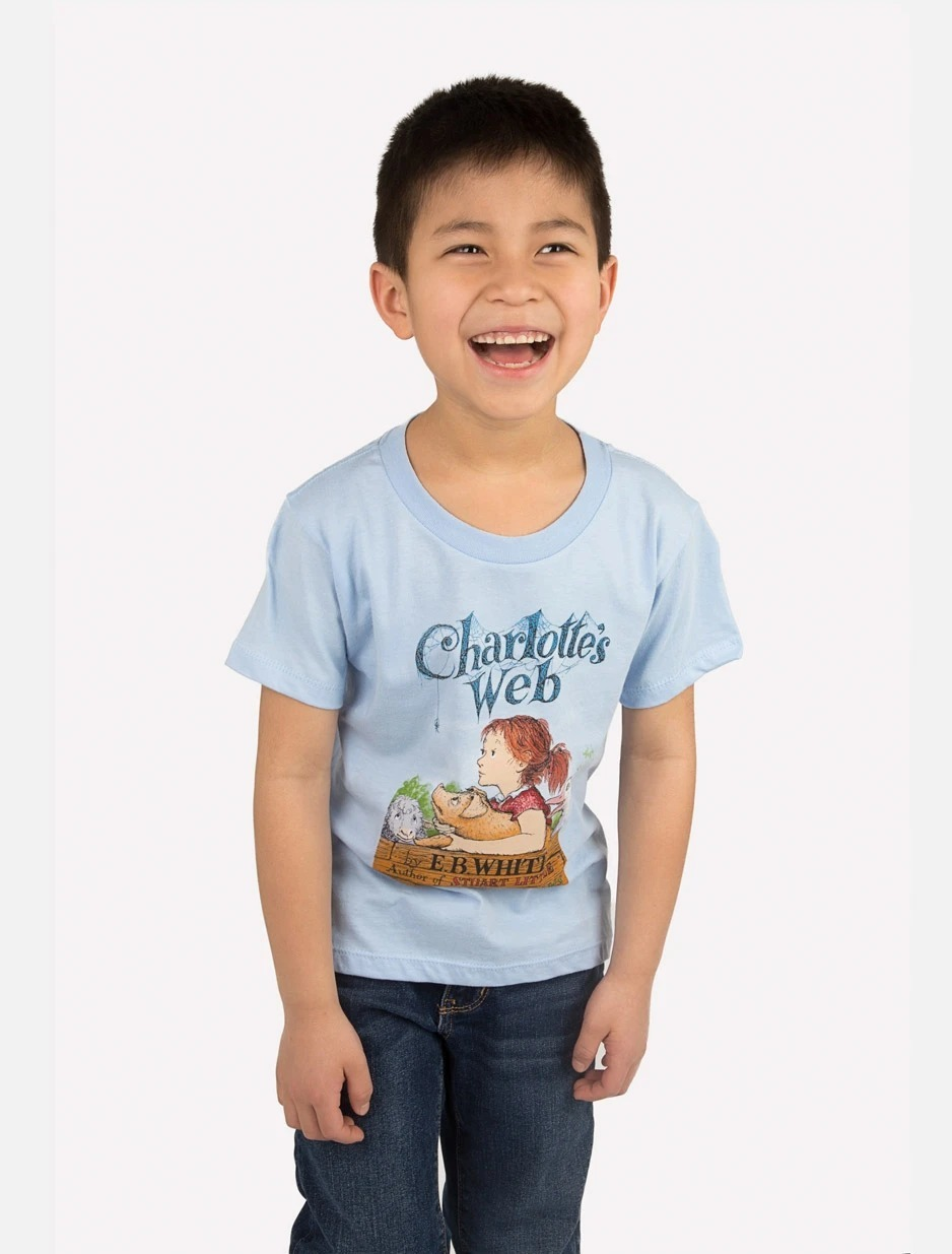 Out of Print: Charlottes Web Childrens Tee - 6/7 yr image