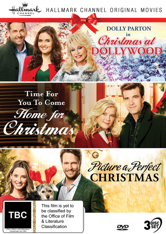 Hallmark Christmas Collection 11: Christmas At Dollywood / Time For You To Come Home For Christmas / Picture A Perfect Christmas on DVD