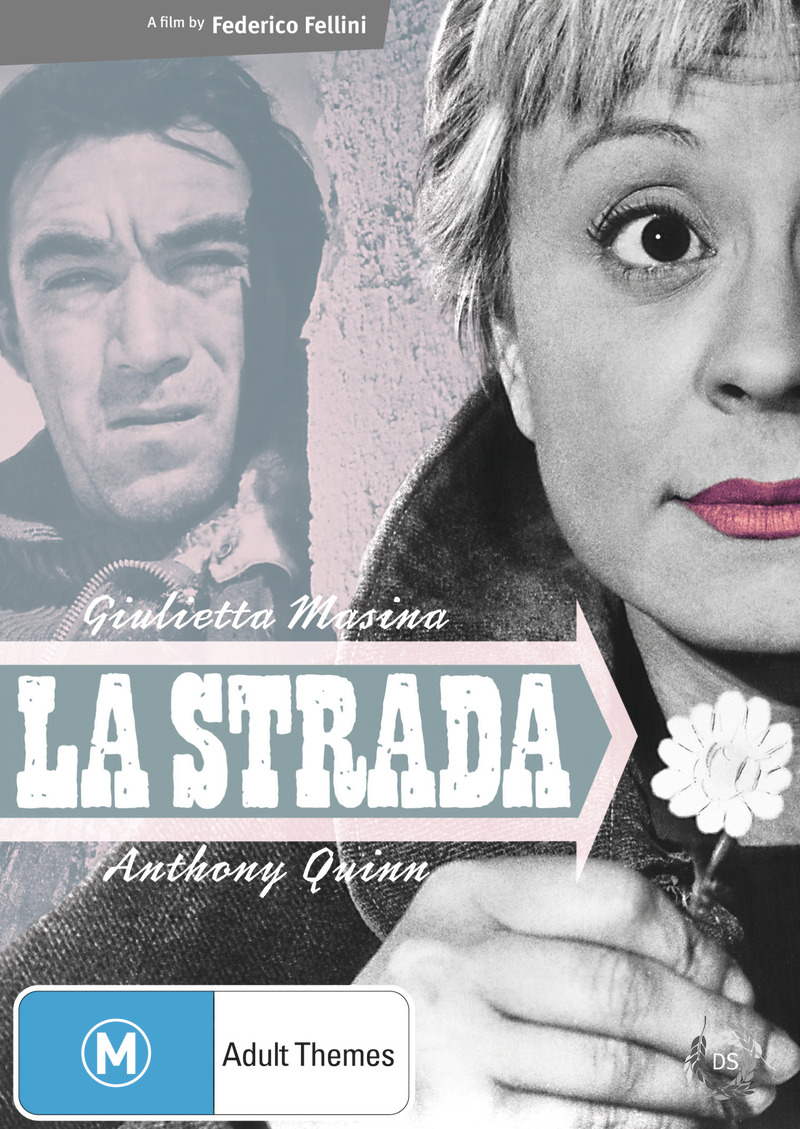 La Strada on DVD image