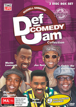 Def Comedy Jam Collection - All Stars 3 (3 Disc Box Set) on DVD