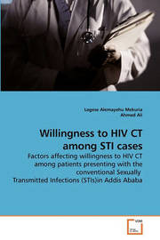 Willingness to HIV CT Among Sti Cases by Legese Alemayehu Mekuria