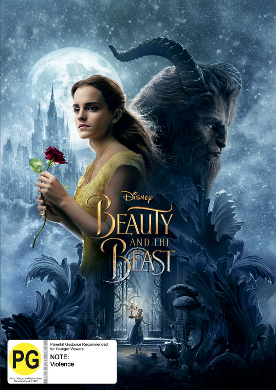 Beauty And The Beast (2017) on DVD