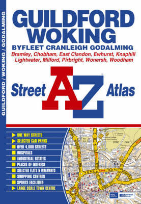 Guildford Street Atlas by Geographers A-Z Map Company image