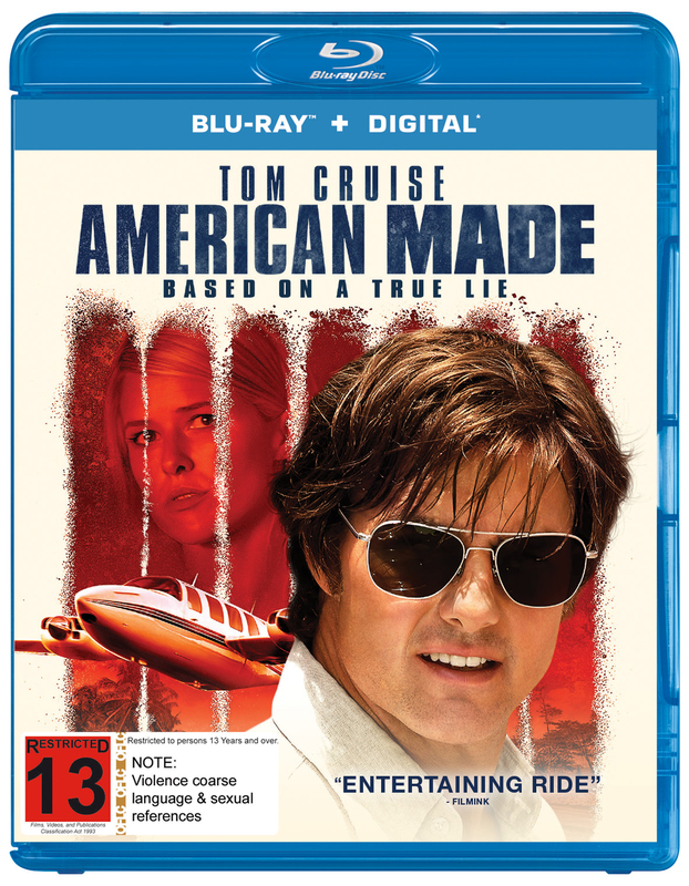 American Made on Blu-ray