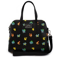 Loungefly: Pokemon Starters Print - Fashion Duffle
