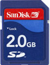 SanDisk SD SecureDigital 2048MB (2GB) Memory