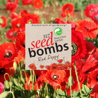 NZ Seed Bombs - Red Poppy