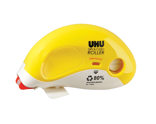 UHU: Dry and Clean Adhesive Roller - Permanent (8.4mm x 14m Refillable)