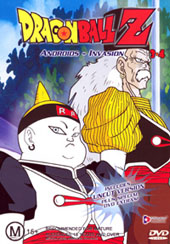 Dragon Ball Z 3.04 - Androids - Invasion on DVD