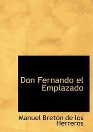 Don Fernando El Emplazado by Manuel Breton de los Herreros image