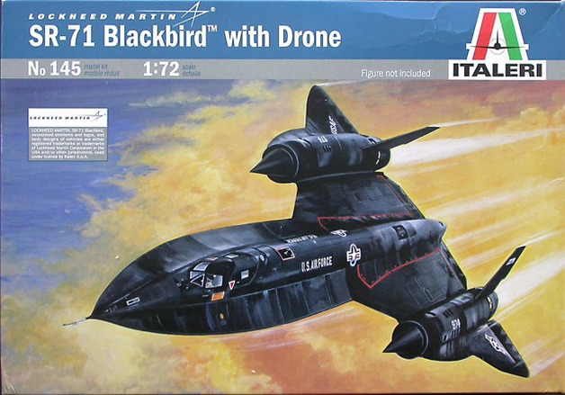 Italeri Blackbird SR71 1:72 Model Kit