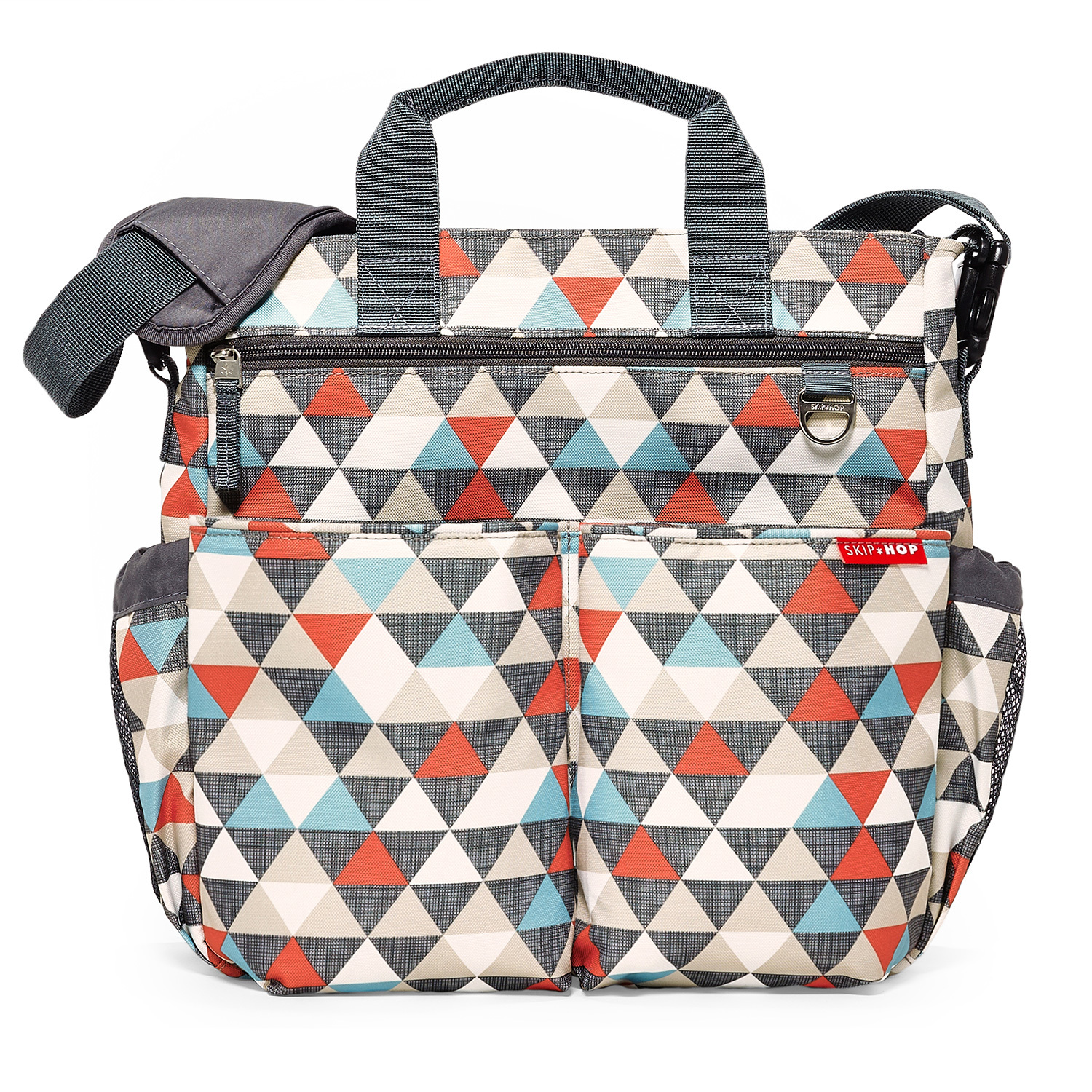 Skip Hop: Duo Signature Nappy Bag - Triangles image
